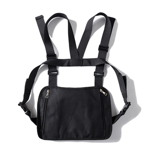 Image 4 - Dark Icon Multi Function Pocket Gilet 2019 New Fashion Vest Best Match Hip Hop Vest Men Streetwear Clothing