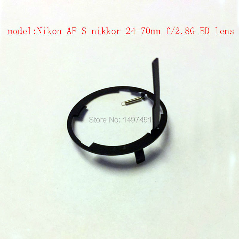New Base bayonet ring Aperture control dial lever Repair parts For Nikon AF-S nikkor 24-70mm f/2.8G ED lens