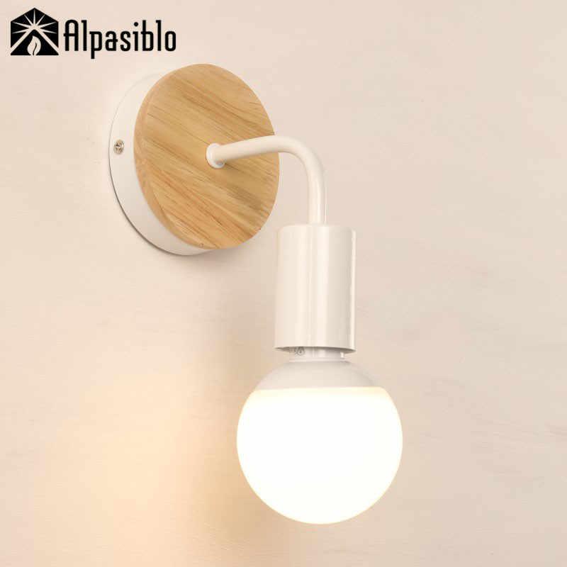 Фото Современные Настенные светильники промышленные декоративные Лофт ретро лампа