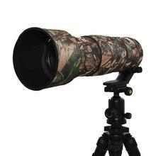 Объектив сумка резиновая Камера объектив пальто камуфляж объектив Camo Защитная крышка Пистолеты Костюмы для Nikon 200-500 мм F5.6 VR охватывает