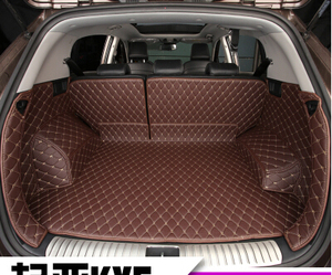 Image 3 - High quality Special car trunk mats for KIA Sportage 2018 2016 waterproof boot carpets cargo liner for Sportage 2017 styling