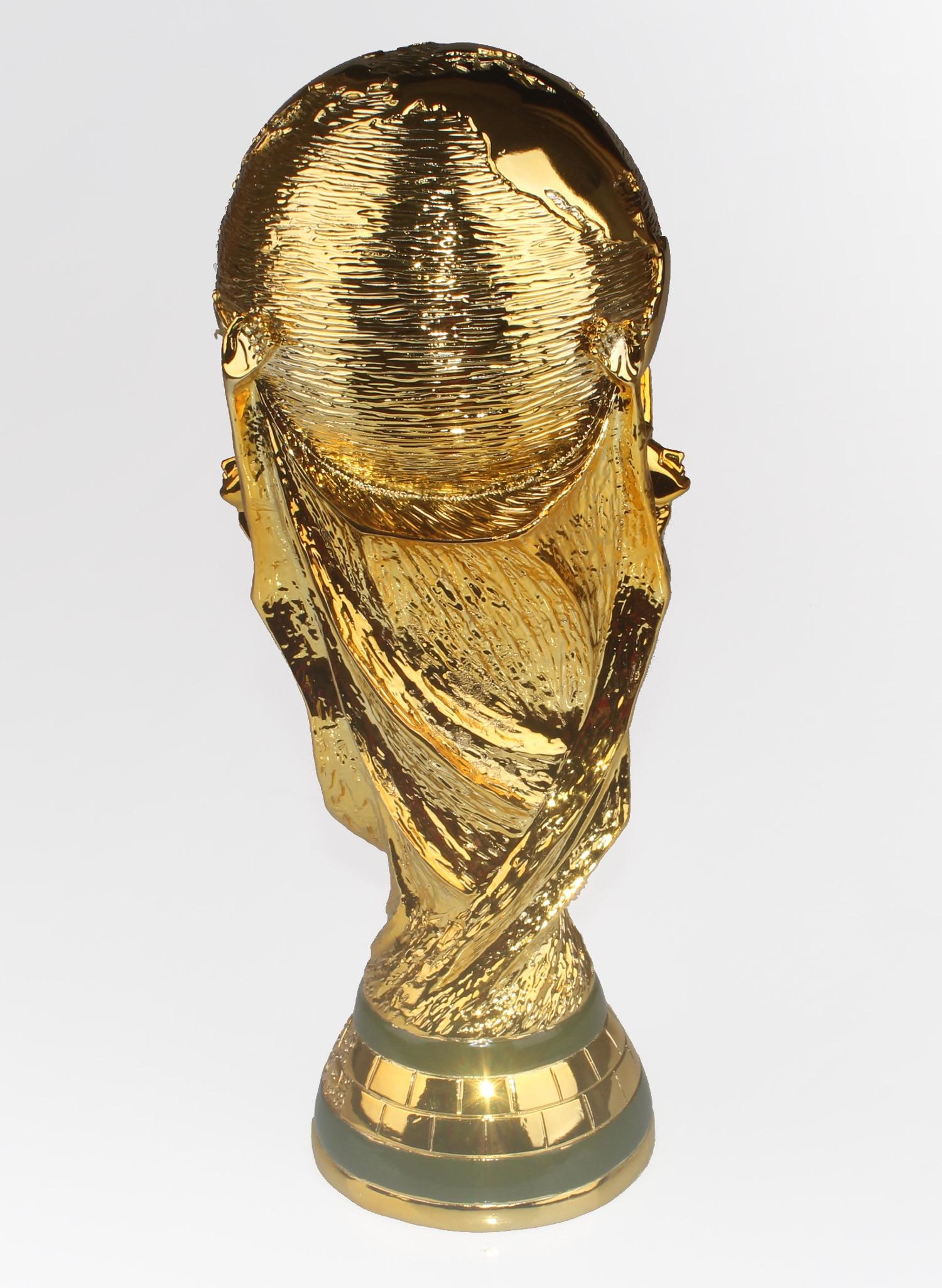 2018 <font><b>World</b></font> <font><b>Cup</b></font> Trophy Model Full Size 36cm Solid 5KG Statue gold resin materials trophies