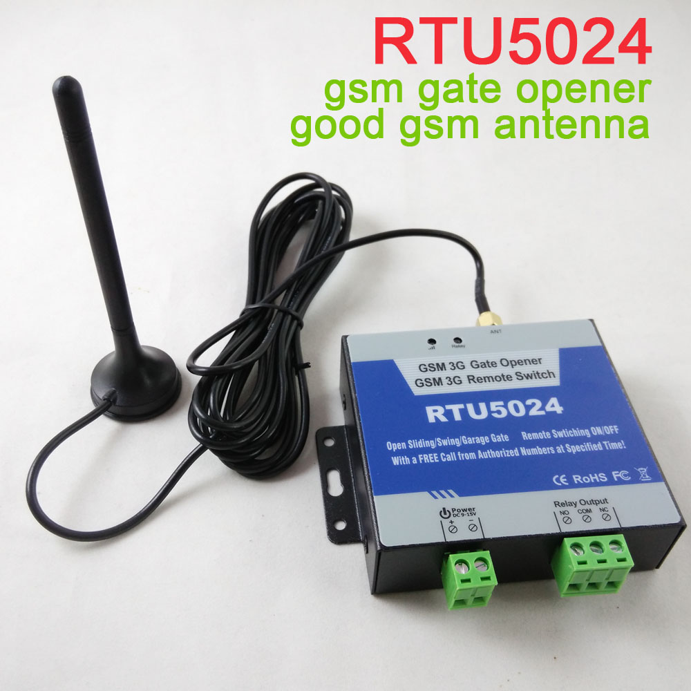 RTU5024 GSM Gate Opener Relay Switch Remote Access Control Wireless Door Opener By Free Call Iphone