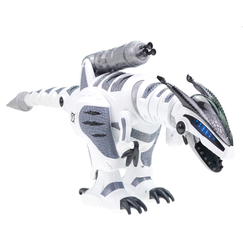 Juguete eléctrico para mascotas K 9 simulación de caminar RC Battle Animal Robot interactivo inteligente dinosaurio juguete con lanzamiento suave bala - 3