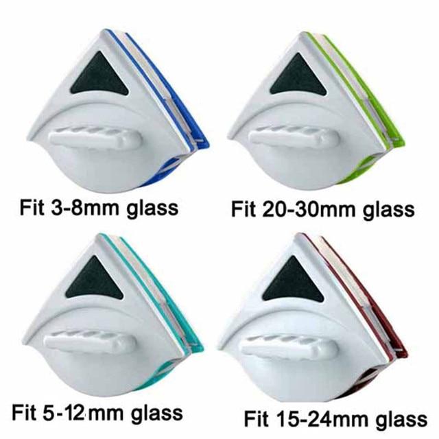 כף יד כפול צד מגנטי חלון זכוכית ניקוי מברשת כביסה windows מנקה זכוכית משטח מברשת לאמבטיה מטבח