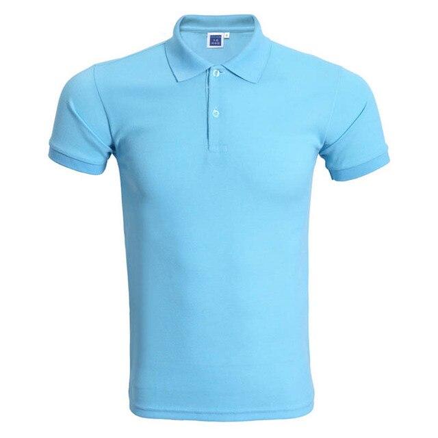 2017 Summer Short Sleeve Men Polo Shirts Fasion polo ralphmen pol shirt polo  Work Casual Women Male Female Polo Shirts Cheap d7d2385be