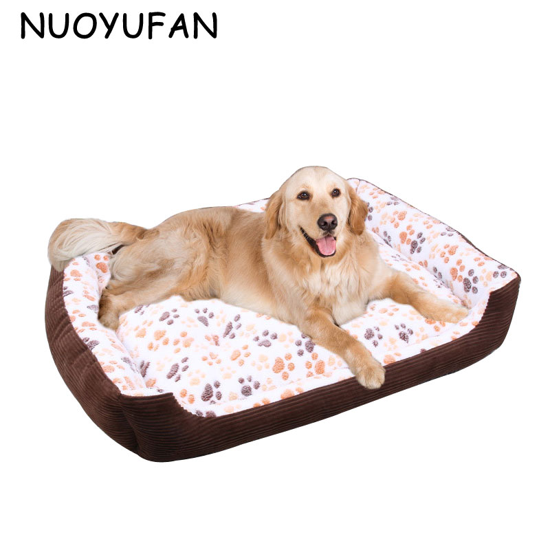 Nuoyufan teddy winter warm kennel small medium large dog Dog house sofa