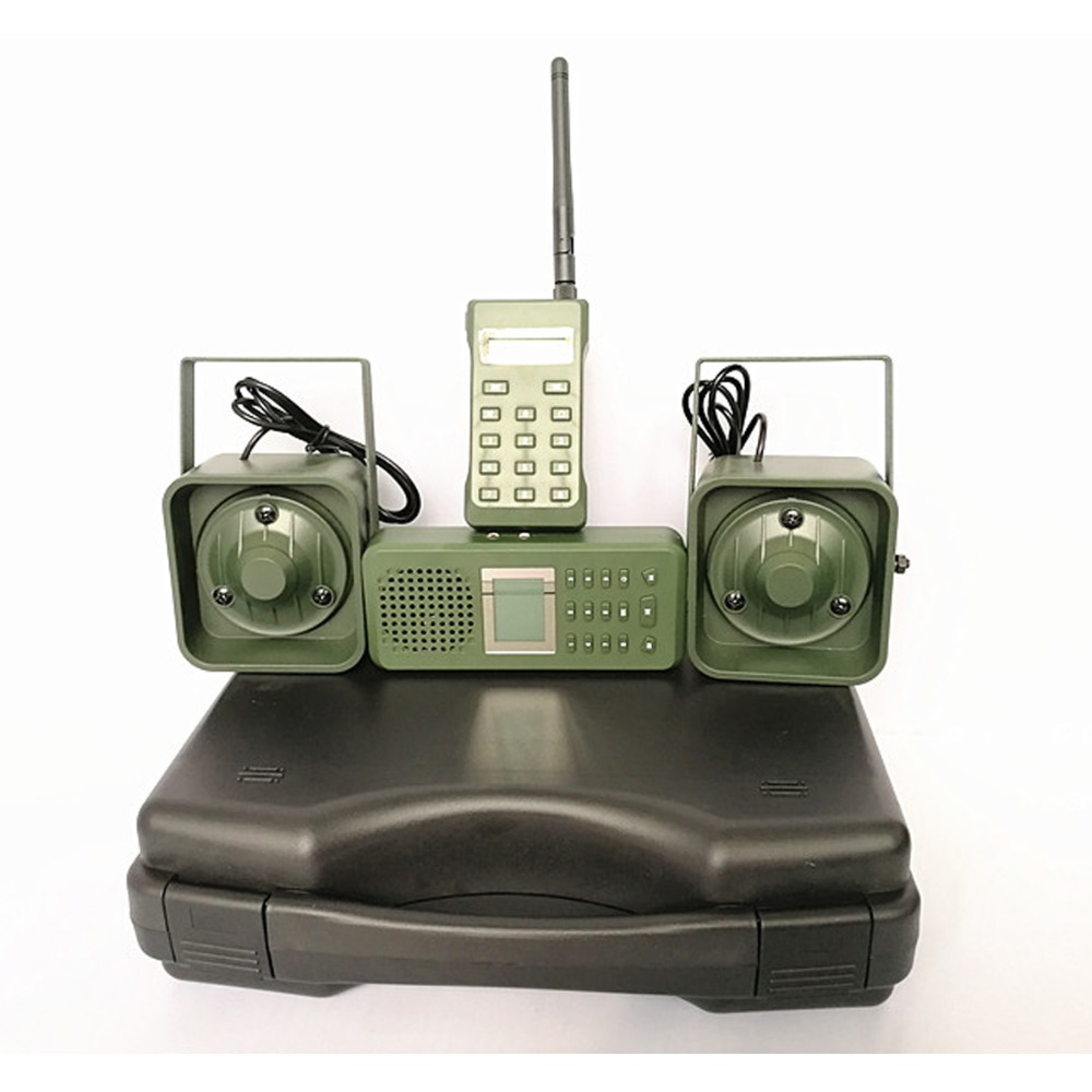 Image 4 - Decoy Hunting Brid caller 300 500m Remoteremote Control 2*50W External Loud Speaker Electronics Animal Caller for Hunting-in Hunting Cameras from Sports & Entertainment