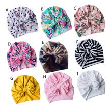 Spring Summer Baby Hat Bowknot Bonnet Beanie Hats Toddlers Boys Girls Kids Children