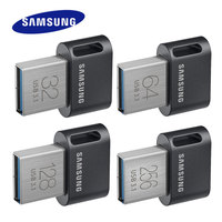 Samsung mini-USB Flash Drive 32 gb Металл диск на ключе 64 GB Флешка 3,1 128 GB 256 GB флешки до 200 МБ/с. FIT/AB memoria usb 3,1