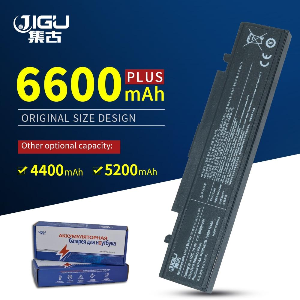 JIGU batería del ordenador portátil para Samsung AA-PB9NC6B AA-PB9NS6B PB9NC6B R580 NP350V5C R525 R430 R530 RV411 RV508 NP-R528