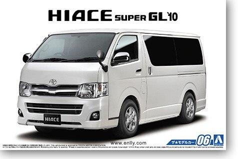 1:24 Toyota TRH200V Hiace Super GL`10   Assembly Model