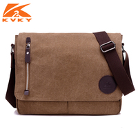 Men Canvas Bag Crossbody Shoulder Bag Messenger Bag Brown Black Casual Bags MaleTravel Bag
