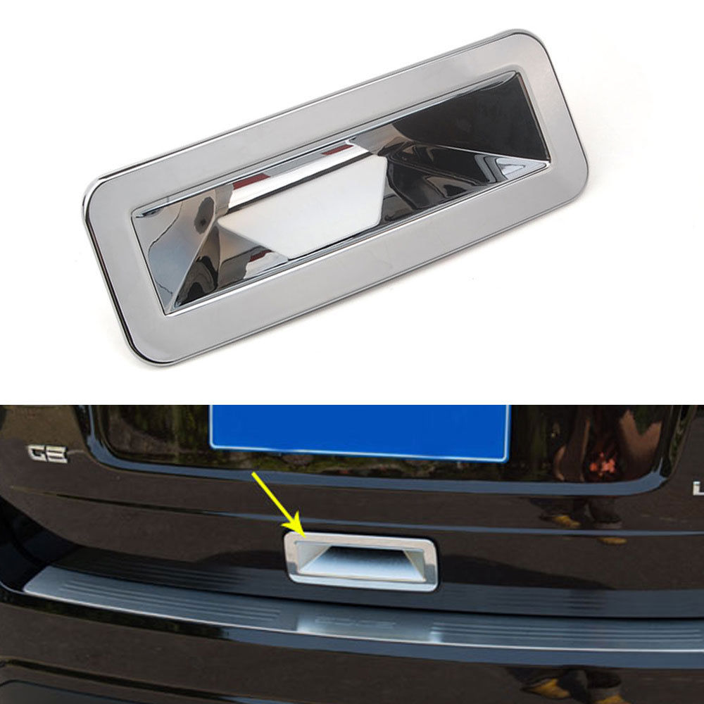 Brand New Chrome Car Rear Trunk Door Tailgate Handle Cover Trim for Ford Edge