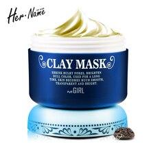 Ее имя маска грязь маска для лица лечение акне уход за кожей очищающий грязные moisturizingcontrol красоты удалить черноголовых