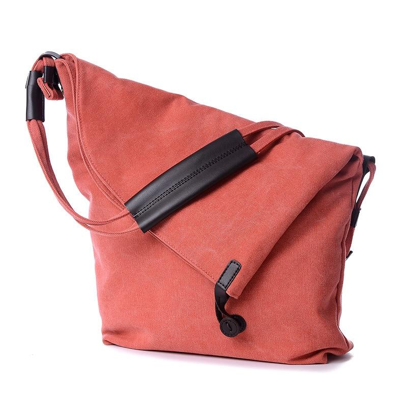 Moorlly 2016 Women Canvas Bag Ladies Large Grey Cotton Bag Crossbody Bags  For Women Vintage Leather Handbags Unisex Bag Men-in Top-Handle Bags from  Luggage ... 3fc58ef9ab