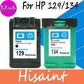 Горячая Для HP 129 134 Картридж Черный И Цвет HP 8050 C4140 C4150 C4150 C4180 C4183 C4188 Струйный Принтер Бесплатно доставка