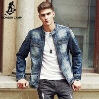 Pioneer Camp 2016 New Arrival Denim Jacket Men Fall Fashion Men Slim Fit Jeans Jackets Man