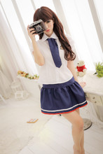 Sexy lingerie student short skirt sexy costumes role playing nightclub sexy uniform lingerie hot erotic porno girl women
