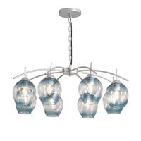 Современный Креативный Европы стеклянный подвесной светильник светодиодный E27 с 3 вида цветов для спальни/ресторан/мебель для гостиной/кух