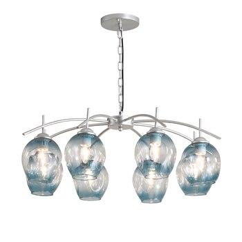Luz pingente de vidro moderno Europa criativa LED E27 com 3 cores para o quarto/restaurante/sala de estar/cozinha /café/hotel/escritório