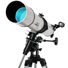 Sale astronomical telescope hd night vision is a high school children's professional 80EQ