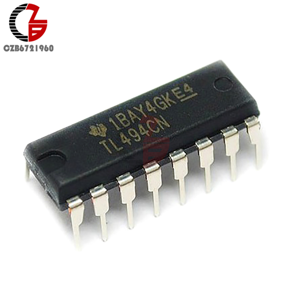 10Pcs Controller DIP-16 TL494CN TL494 Ti Pwm Power Supply Ic New tu