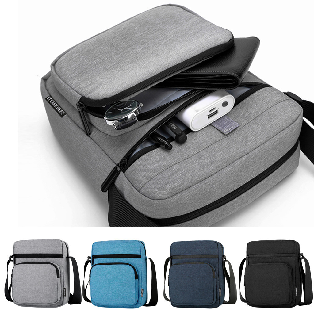 Sleeper #W401 2019 New Fashion Men's One Shoulder Casual Messenger Bag Business Sports Bag Daily Wear Hot Free Shipping