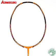 2019 Kawasaki Genuine Badminton Racket Offensive Honor H6 Passion P5 Series Raquete Badminton With Free Gift(China)