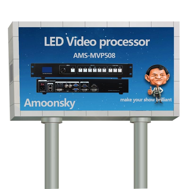 Best Selling AMS-MVP508 Video Processor Video Naadloze Switcher Voor Outdoor Full Color LED Display
