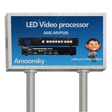 Best Selling AMS-MVP508 Processador de Vídeo Switcher de Vídeo Sem Costura para a Cor Cheia Ao Ar Livre CONDUZIU a Exposição