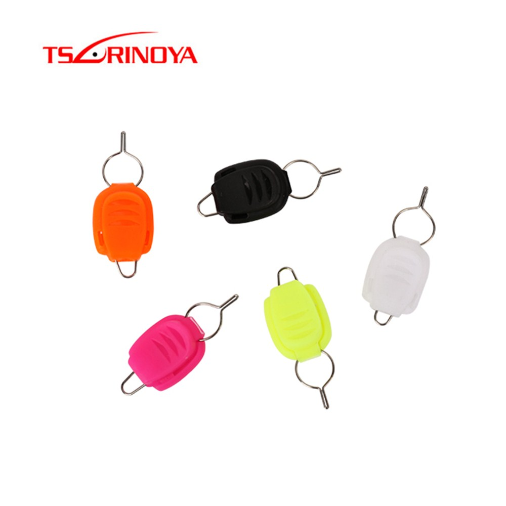 TSURINOYA 4pcs Fishing Line Holder Wire Stopper Buckle Clip For Baitcasting Or Drum Reels Pesca Acesorios Fishing Tackle Tools