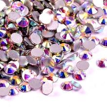 Polaris Glitter Glass DMC Rhinestones Crystal AB ss2 ss50 Non Hot Fix  FlatBack Strass Rhinestone Nail Art Stone Good price-in Rhinestones from  Home   Garden ... 015c13c72c55
