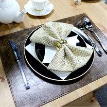 Коврик для кухонного стола из искусственной кожи Коврик для питья коврик с изоляцией коврик для стола коврик для обеденного стола 33*46 см
