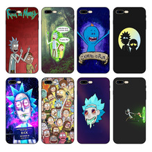 HOUSTMUST Rick And Morty Soft Silicone Phone Cover Case For iPhone 6 6s 7 8 X 5 5S SE 6plus 7plus 8plus XR XS max phone case ruicaica rick and morty backwoods cigars silicone phone case cover for iphone x xs max 6 6s 7 7plus 8 8plus 5 5s se xr 10