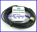 Free shipping (10pcs/lot) GPS Navigation Antenna 3 meter Cable SMA Male plug connector Straight
