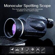 GOMU 13X50 okular Teleskopu Wysokiej jakości HD Wodoodporna Potężny obserwowanie ptaków połowów i sight polowanie Monokularowy dla sportu na świeżym powietrzu