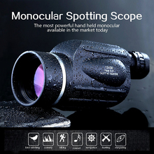 On sale GOMU 13X50 eyepiece Telescope High quality Waterproof HD Powerful Monocular for outdoor birdwatching fishing and hunting sight