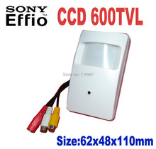 Sony CCD 960H Effio 600TVL Thermal Video Surveillance High Resolution Detecter Hi-RES mini ccd camera Support audio output