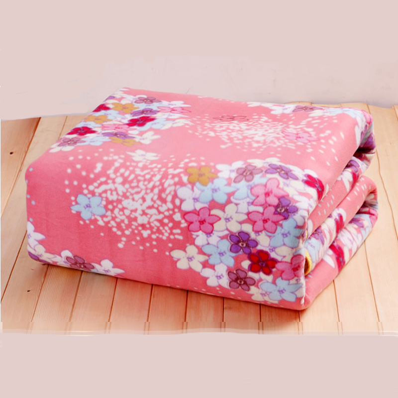 150x120cm Electric Blanket Double Heated Blanket Security plush Electric Blanket Body Warmer Heater for Winter