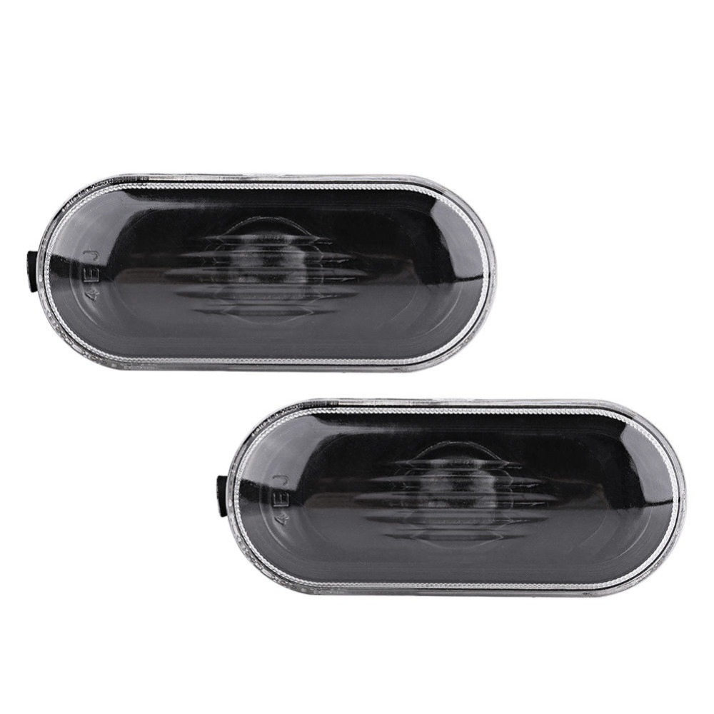 Pair Side Marker Light Housing Cover for VW Golf Jetta Bora MK4 Passat B5 B5 5