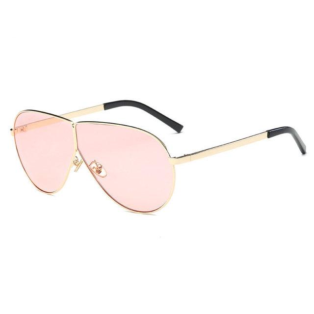 CIVICHIC 2017 Men Women Fashion Sunglasses Personalized Large Frame Glasses UV400 Streetsnap Oculos De Sol HD Coating Specs E259
