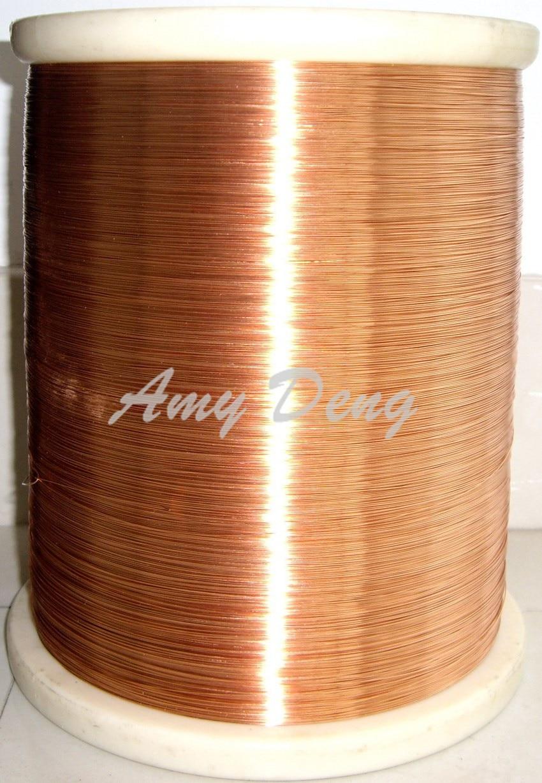 500meters/lot  0.5 New Polyurethane Enamel Covered W Ire 2UEW QA-155 Copper W Ire Straight Welding W Ire