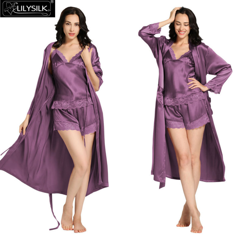 1000-violet-22-momme-lace-silk-camisole--dressing-gown-set