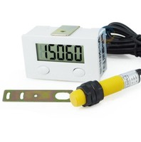 Electronic Digital Display Punch Counter Magnetic Sensor Proximity Switch