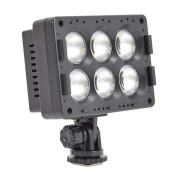 3200K/5600K Video Photo Studio LED Video Light  Dimmable Camera Camcorder Panel Lamp 1300lm T6-C for Canon Nikon Sony DSLR Photographic Lighting