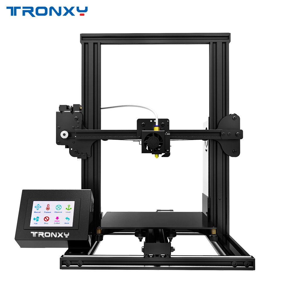 Mini 3D Printer Tronxy XY-2 Large 3d printer Touch Screen with PLA Filament 1.75mm