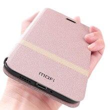 ケース V20 ための Huawei 社の名誉表示 20 フリップケース MOFi オリジナル高級 TPU ハウジング Pu レザーブックシェルフォリオ