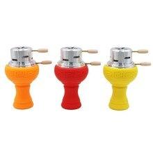 1set New Silicone Head Holder Smoking Accessories High Quality Shisha Hookah Bowl