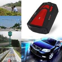 BreaDeep Auto 360 Grad Auto Radarwarner 16 Band für Fahrzeug V7 Anti Geschwindigkeit Akustischer alarm Warnung mit 16 Band Led-anzeige Laser